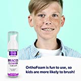 OrthoFoam Braces Cleaner - Cleans Under