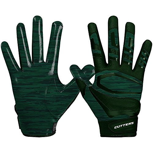 Cutters Gloves Rev Pro 3.0 Receiver Phantom Gloves, Green Camo, Large