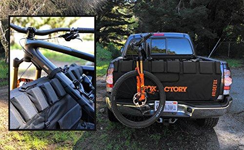 FOX, Truck Pad 2.0, 57'', S/M, Black/Orange by FOX Factory