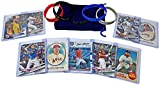 #6: Baseball Cards Top Stars: Aaron Judge, Mike Trout, Bryce Harper, Justin Turner, Corey Seager, Jose Altuve, Cody Bellinger, Buster Posey, Giancarlo Stanton + Wristbands ASSORTED Card Gift Bundle