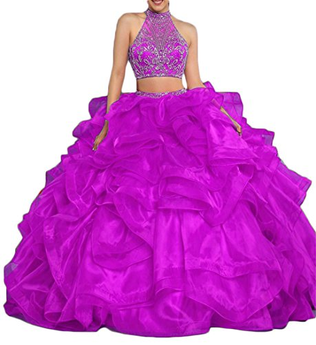 2 Piece Beaded Jacket Dress - 4