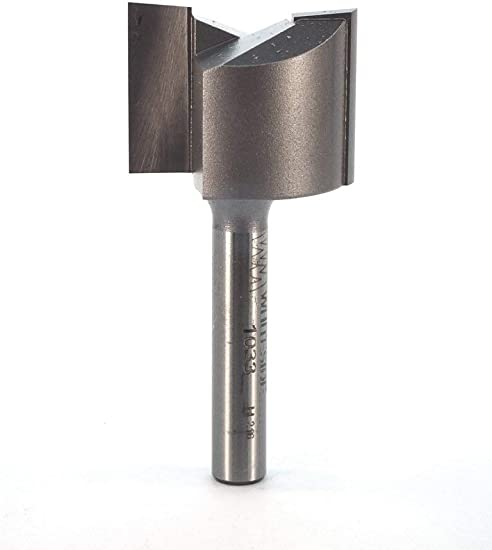 Whiteside Router Bits 1059 Straight Bit with 9//32-Inch Cutting Diameter and 3//4-Inch Cutting Length