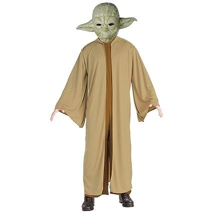 Amakando Traje de Maestro Yoda / Marrón-Verde en Talla ES 56 ...
