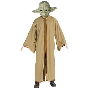 Amakando Traje de Maestro Yoda / Marrón-Verde en Talla STD ...