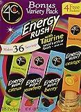 4C Totally Light Bonus Variety Pack, Energy Rush, 18-Count Boxes (Pack of 3)