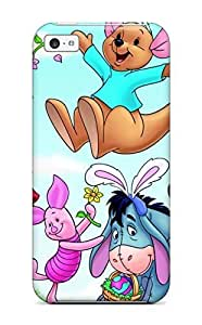 for ipod Touch 4 Case Slim [ultra Fit] Baby Winnie The Pooh And Friends Protective Case Cover