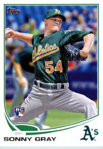 2013 Topps Update Baseball Rookie Card IN SCREWDOWN CASE #US277 Sonny Gray MINT