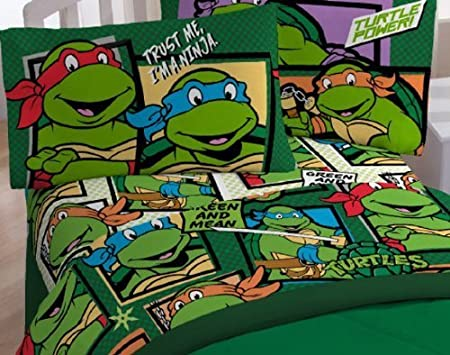 Teenage Mutant Ninja Turtles Green Dojo 2-pc. Twin Size ...