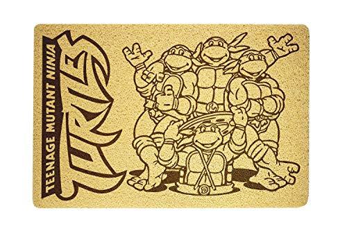 OLESIAstudios Teenage Mutant Ninja Turtles Doormat Sweet Home Supplies Décor Accessories Unique Gift Handmade Present Idea Original Design Commercial Outside Inside Personalized Quotes Exterior]()