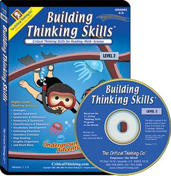 Building Thinking Skills Software