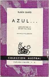 AZUL... Carta-prólogo de Juan Valera.: Amazon.es: Darío