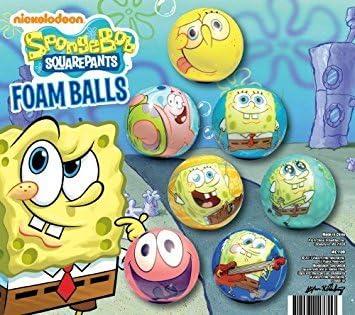 Bob Esponja bolas de espuma – Juego de 12 bolas de espuma suave ...