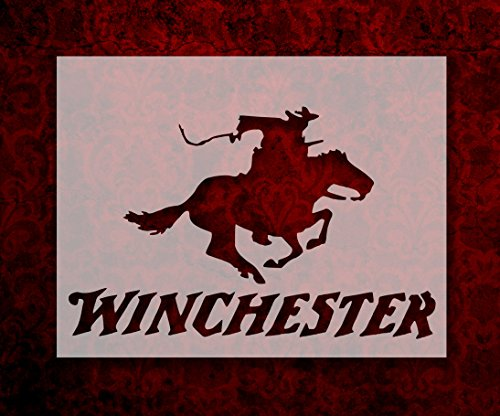Winchester Rifle Ammo Horse Cowboy 11