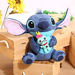 Alician Cute Lilo&Stitch Plush Doll Kids Soft Toy Xmas Present 23cm