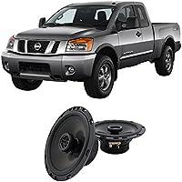 Fits Nissan Titan 2004-2007 Rear Door Factory Replacement Harmony HA-R65 Speakers New