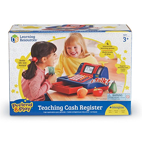 514chfL%2BYiL - Learning Resources Pretend & Play Teaching Cash Register [Standard Packaging]