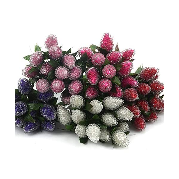PeaceLove-12Pcs-Artificial-Berries-for-Decoration-Artificial-Berries-Branch-Decor-DIY-Fake-Arrangement-Flowers-Christmas-Decorations-Outdoor-DIY-Gift-Box-Craft-Postcard-Decor-Scrapbook-Accessories