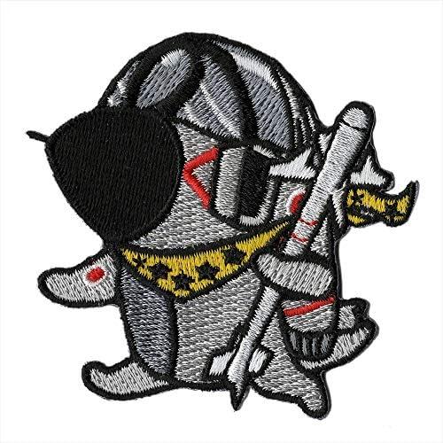 自衛隊グッズ 選べる4タイプ 貼れるワッペン ファントムおじいちゃん コレクション (301カエル)
