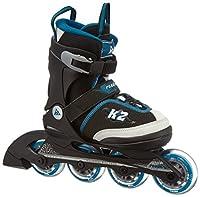 K2 Jungen Inline Skate Roadie Junior Pack, mehrfarbig, M (32 - 37), 30A0723.1.1