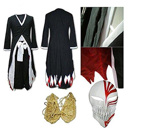 Bleach Kurosaki Cosplay Costume - Mister Bear Bleach Kurosaki Ichigo Arrancar Cosplay Costume Sword