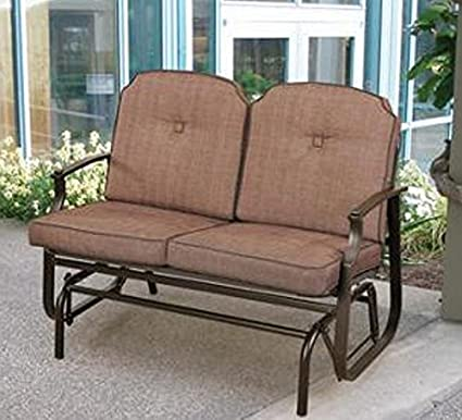 Miraculous Mainstays Wentworth Outdoor Glider Bench Seats 2 Caraccident5 Cool Chair Designs And Ideas Caraccident5Info