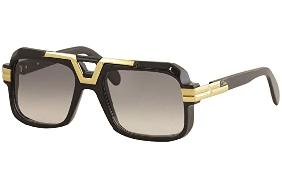 Amazon.com: Cazal 664 Sunglasses 001SG Black/Grey Gradient ...