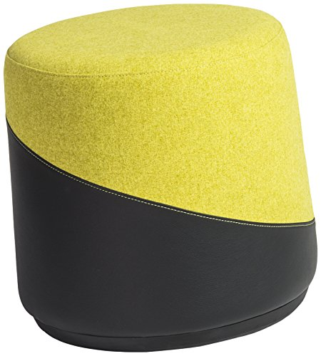 Euro Style 39000YEL Kestrel Balance Stool, Yellow by Euro Style