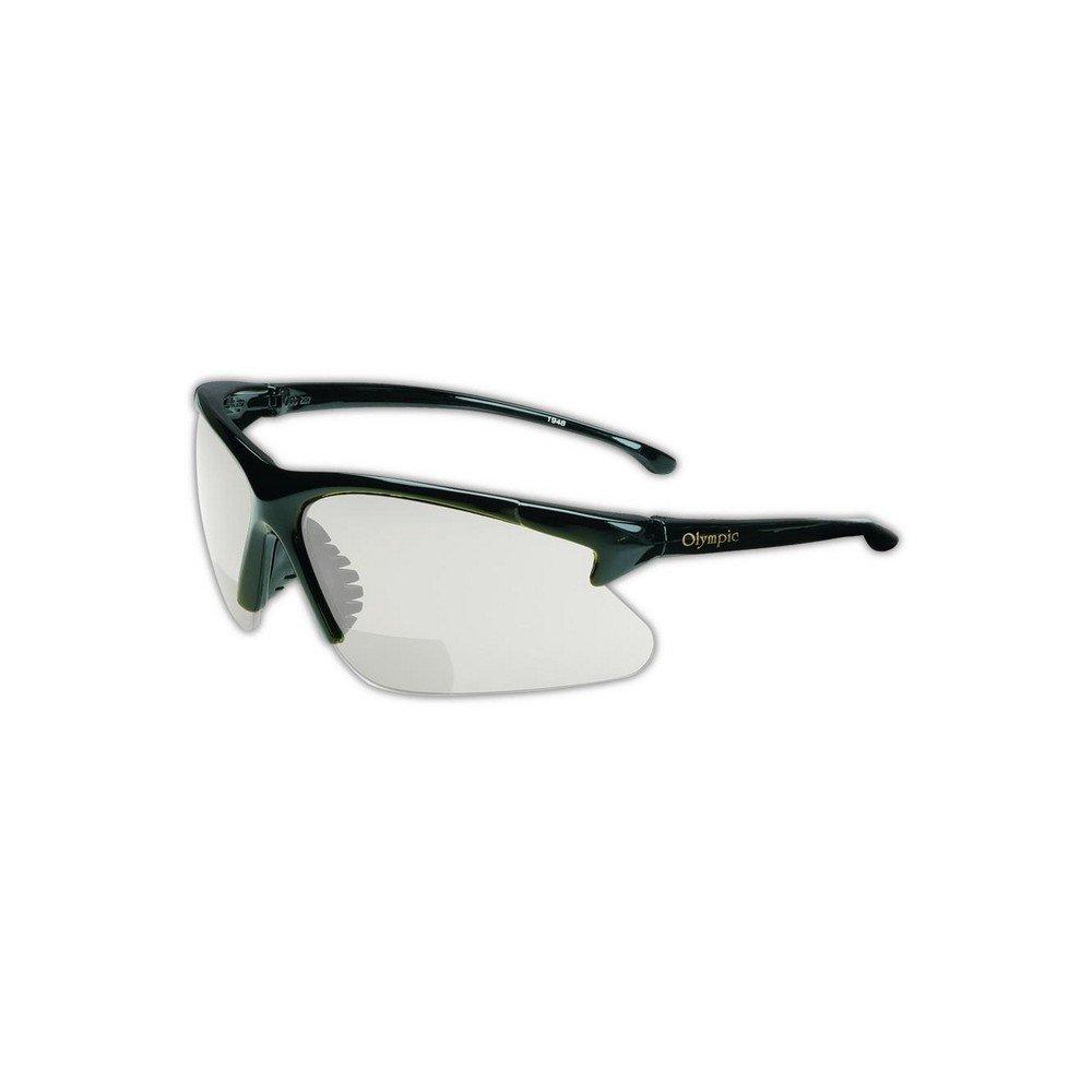 Jackson Safety 19892 30-06 Readers Safety Glasses, Standard, Black
