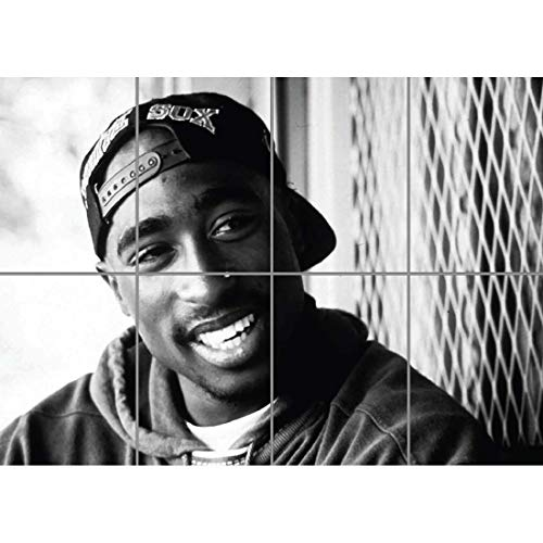 Tupac 2 PAC Rapper Legend XXL Giant Art Print Poster EN330 by Giant Panel Posters