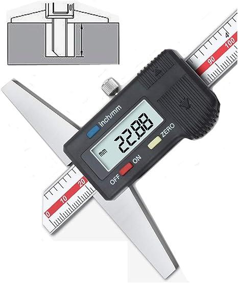 """0.0005/"""" iGaging Depth Gauge Digital Electronic Indicator 0-22/"""" Measuring Range"""
