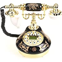 VivReal Retro Vintage Resin Table Telephone Phone Living Business Room Delicate