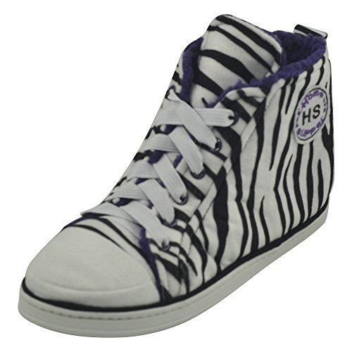 Home Slipper Heren Winter Warm Pluche Indoor House Outdoor Fashion Sneaker Slippers Laarzen Witte Zebra