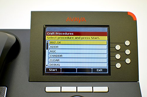 New Avaya VOIP POE IP Deskphone One-X SIP H.323 9640 Phone Telephone 700383920 9600 Series Digital Color LCD Screen Set Kit Assembly w/ Stand USB Ethernet RJ45 by Avaya (Image #7)