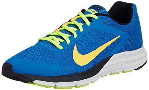 NIKE Zoom Structure+ 17 Men's Running Shoes, Blue, US10