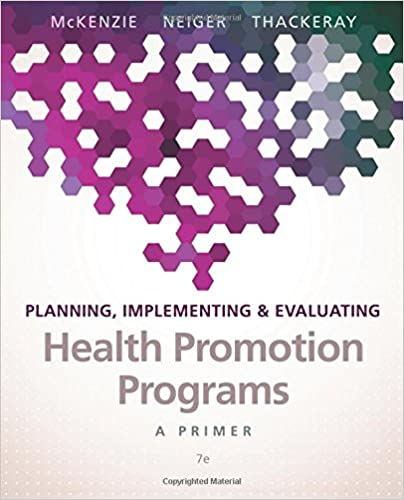 Planning implementing evaluating health promotion programs a planning implementing evaluating health promotion programs a primer 7th edition 9780134219929 medicine health science books amazon fandeluxe Images