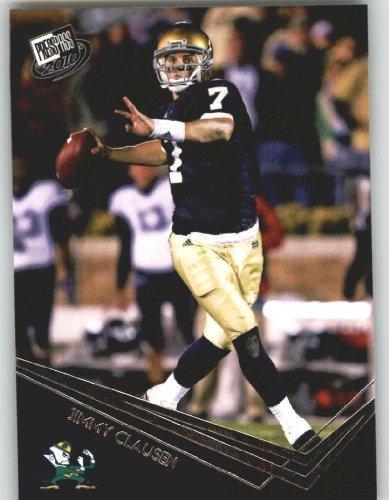 Jimmy Clausen QB - Notre Dame (RC - Rookie Card) 2010 Press Pass NFL Draft ()