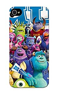 Crazinesswith Series Skin Case Cover Ikey Case For Iphone 5/5s(monsters University)