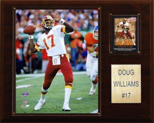 (NFL Doug Williams Washington Redskins Player Plaque)