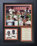 Legends Never Die San Francisco Giants Retired Numbers Framed Photo Collage, 11 by 14-Inch