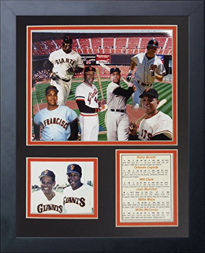 Legends Never Die San Francisco Giants Retired Numbers Framed Photo Collage, 11 by ()