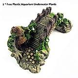 Best SpongeBob SquarePants Aquariums - Aquarium Ornament Poly Resin Bridge and Pavilion Tree Review