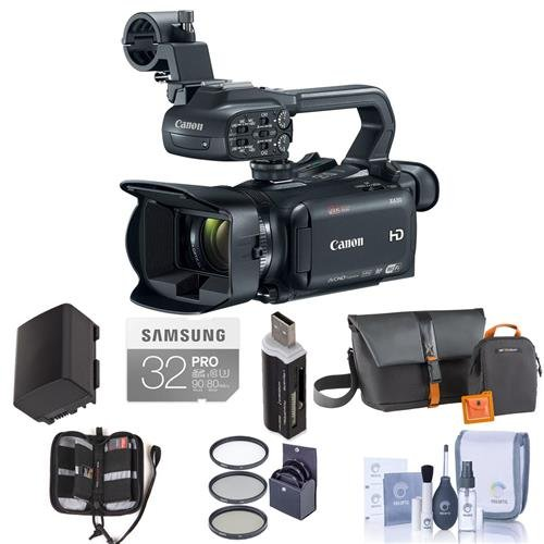 Canon XA30 Professional Camcorder - Bundle with Video Bag, 3