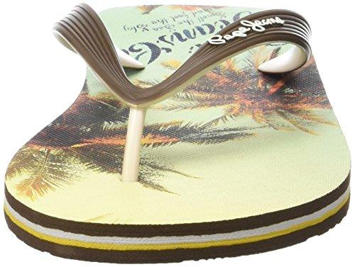 Summer Hawi Pepe Jeans Sandalias Marrón Chocolate para Hombre UEqHqSn