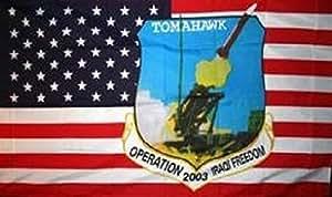 U24Bandera de Estados Unidos Tomahawk 90x 150cm