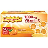 Emergen-C Tangerine Fizzy Drink Mix 90 Pack For Sale