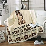 Ziloda Border Collie Sherpa Throw Blanket - Super Soft Mink Plush Couch Blanket,Tv Bed Fuzzy Blanket,Fluffy Comfy Warm Heavy Throws,Comfort Caring Gift,59X78.8 Inches-Best Anniversary Birthday Gift 7