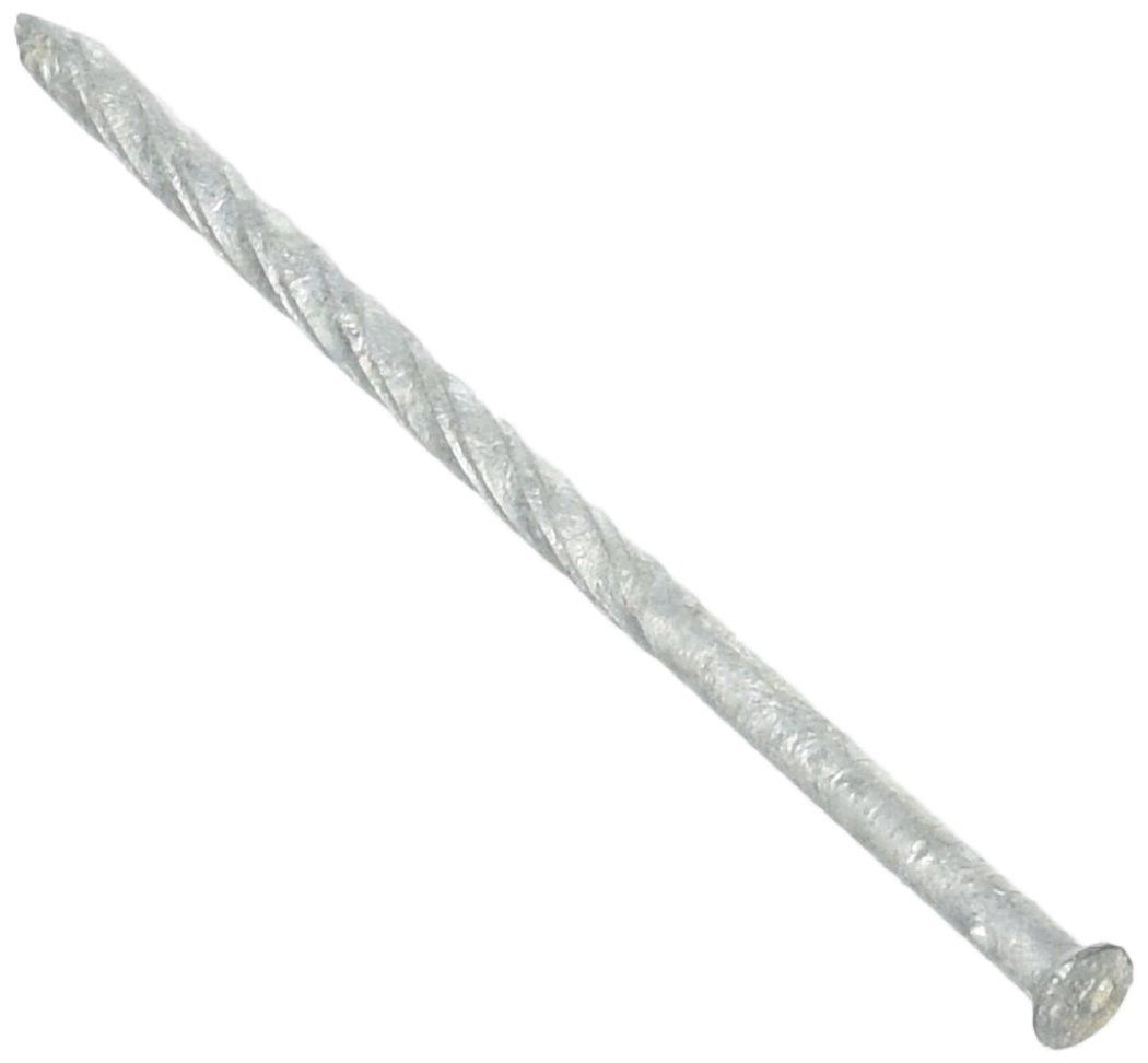 MAZE NAILS S259S-1 Double Hot Dipped Spiral Shank Small Head Siding Nail, 1-Pound 10D 3-Inch