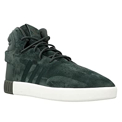 8513312e7359 adidas Tubular Invader Trainers Green  Amazon.co.uk  Shoes   Bags