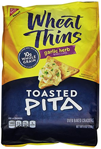 wheat-thins-toasted-pita-crackers-garlic-and-herb-8-ounce-bag