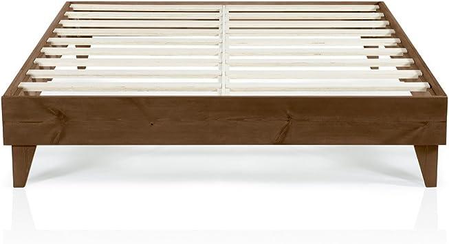 Diy Bathroom Shelf Ideas, Amazon Com Cardinal Crest Wood Full Size Bed Frame No Box Spring Needed Easy Assembly Heavy Duty Ideal Full Bed Frame Full Size Platform Bed Frame Full Size